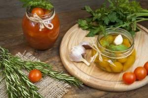 Рецепты консервирования томатов черри в собственном соку. помидоры черри в собственном соку