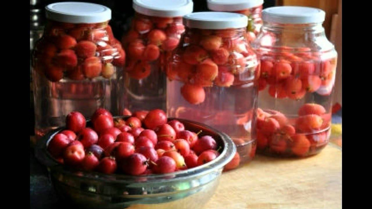 Пошаговый рецепт варки компота из недозрелых яблок на зиму