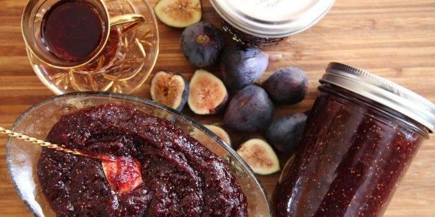 Домашнее и инжировое варенье — как сварить варенье из инжира на зиму, пошаговый рецепт с фото