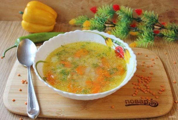 Суп с чечевицей и картофелем — пошаговый рецепт с фото, видео
