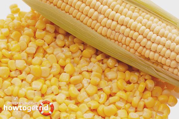 Кукуруза на зиму в домашних условиях