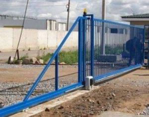 Откатные ворота своими руками: пошаговая инструкция по изготовлению и монтажу