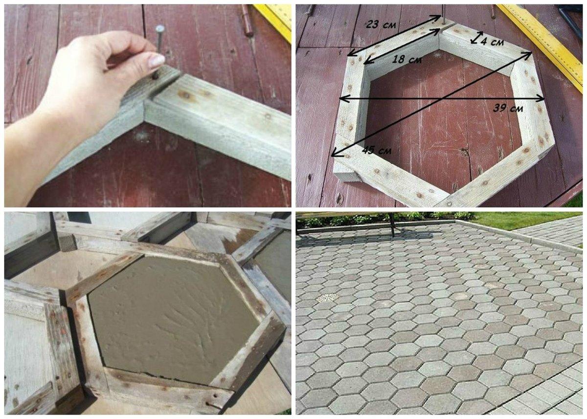 10 ошибок при изготовлении тротуарной плитки своими руками. читать всем!