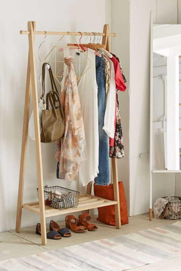 Как сделать вешалку для одежды своими руками: пошаговая инструкция с фото