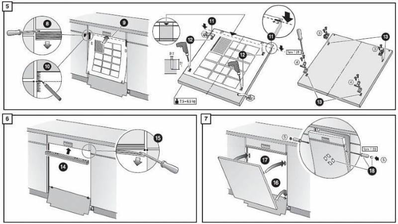 Как подключить посудомойку к водопроводу и канализации