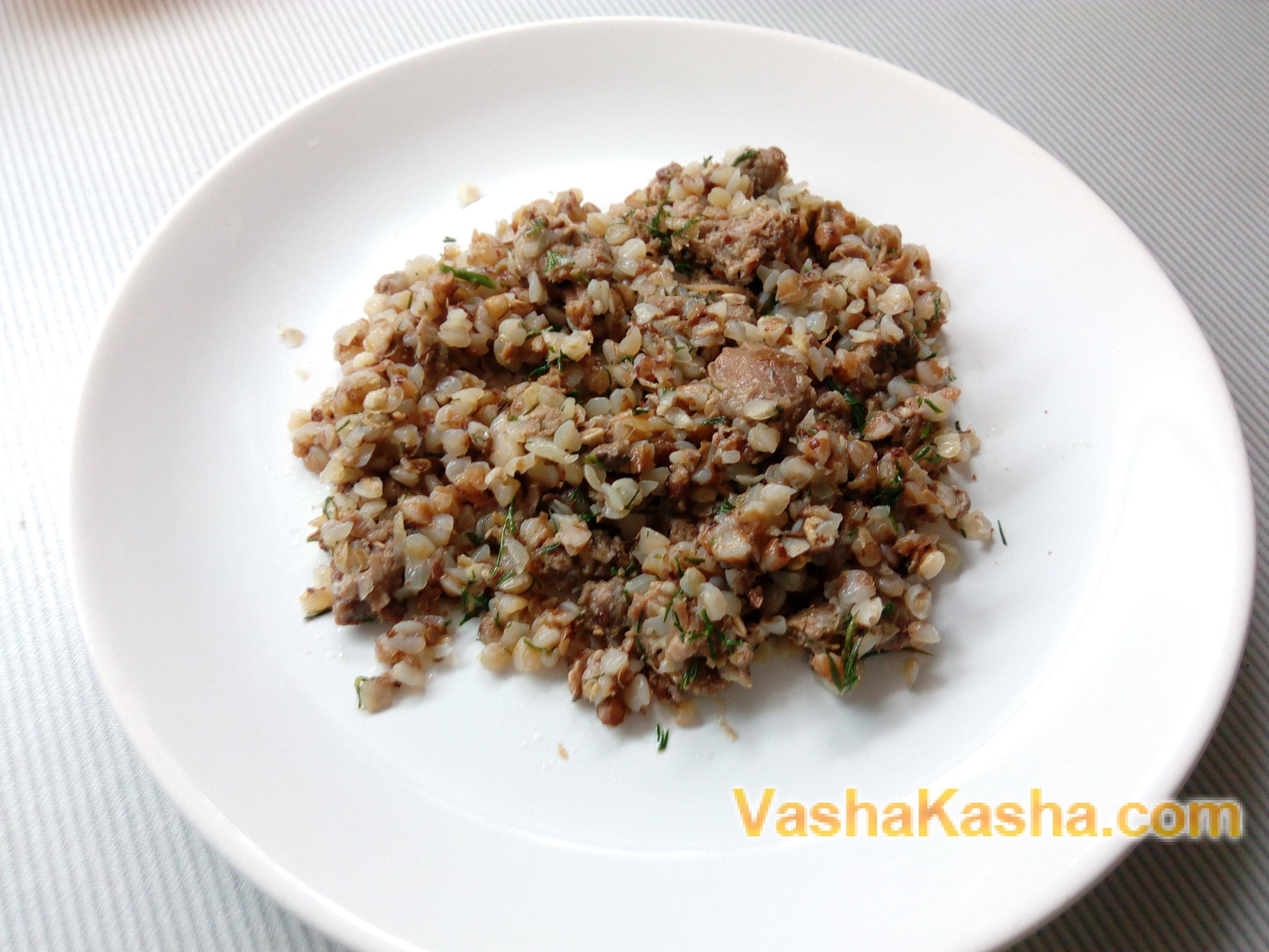 Гречка с тушенкой — самые вкусные рецепты простого блюда