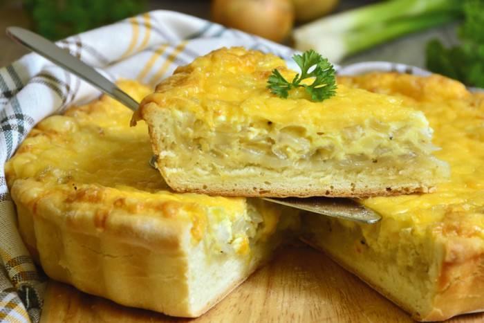 Киш французский луковый пирог