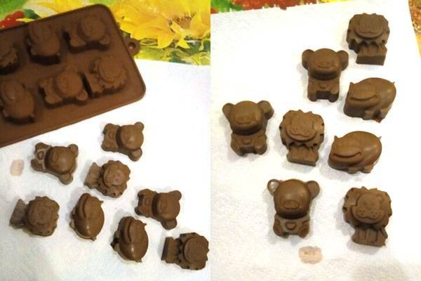 Для изготовления фигурного шоколада нужна силиконовая 3d форма из китая