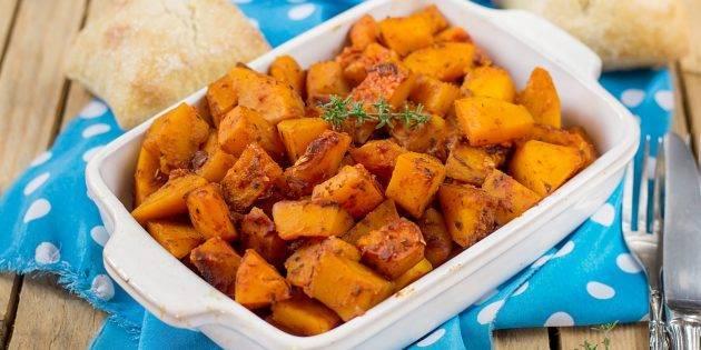 Тыква в духовке быстро и вкусно — 8 рецептов как запечь тыкву