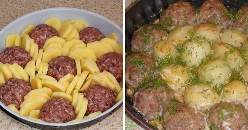 Тефтели с картошкой в духовке: просто, вкусно, оригинально