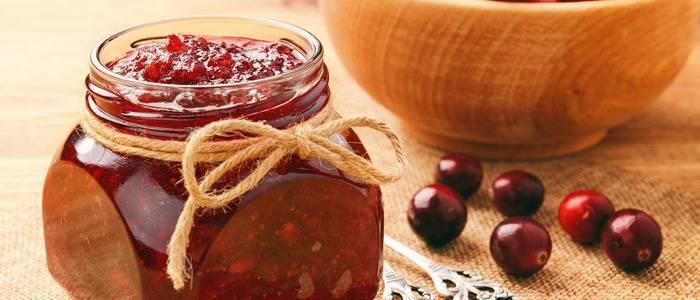 Варенье из клюквы на зиму: простые рецепты