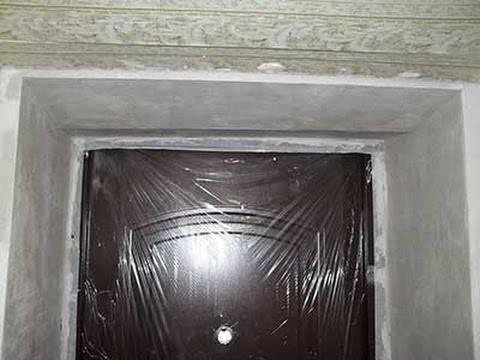 Технология штукатурки откосов стен и окон