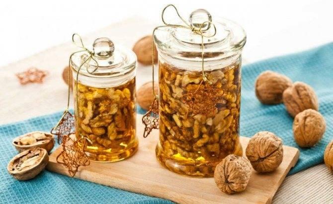 Элексир энергии и мужской силы — грецкие орехи с медом