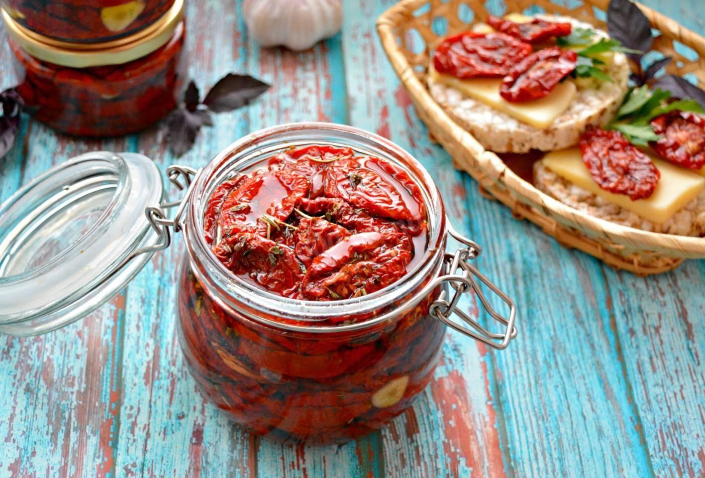 Вяленые помидоры в домашних условиях на зиму в духовке