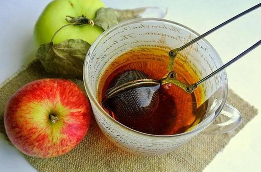 Полезные свойства и витаминный чай из листьев яблони
