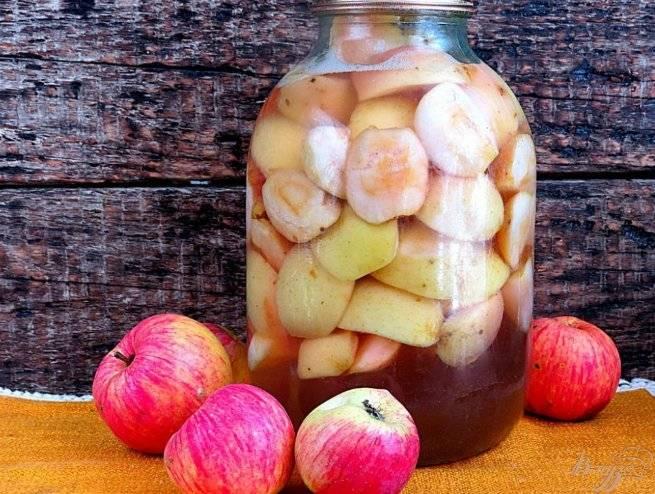 Компот из яблок и апельсинов на зиму — рецепты с фото приготовления напитка для детей, в мультиварке, видео