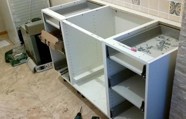 Кухонный гарнитур своими руками, чертежи и схемы. пошаговая технология изготовления кухни