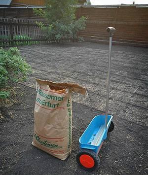 Разновидности и преимущества сеялок для газона