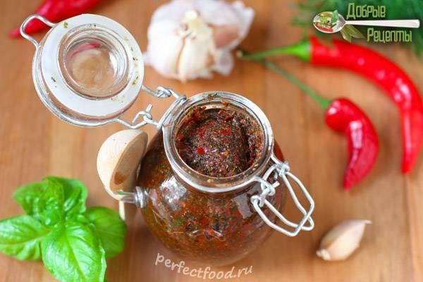 Как приготовить зеленую абхазскую аджику