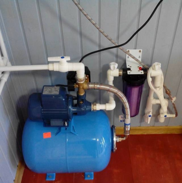 5 шагов по установке насосной станции для частного дома: схема подключения