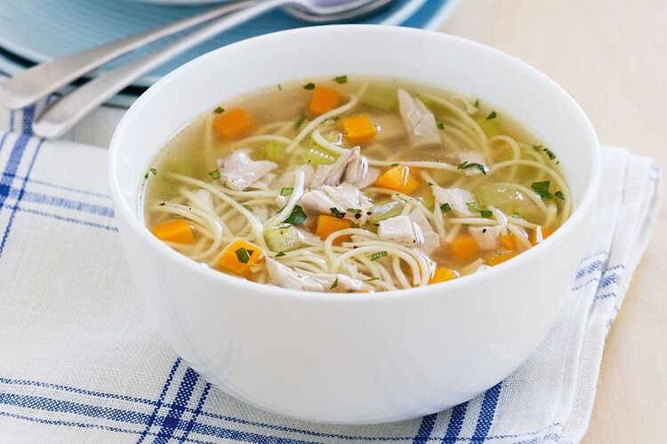Куриный суп с вермишелью и картошкой рецепт