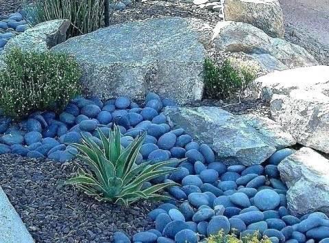 Сухой ручей: когда поток камней оживает