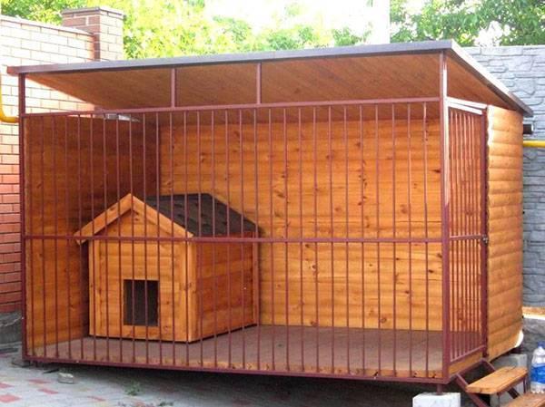 Загон для собак своими руками на даче, как сделать, видео