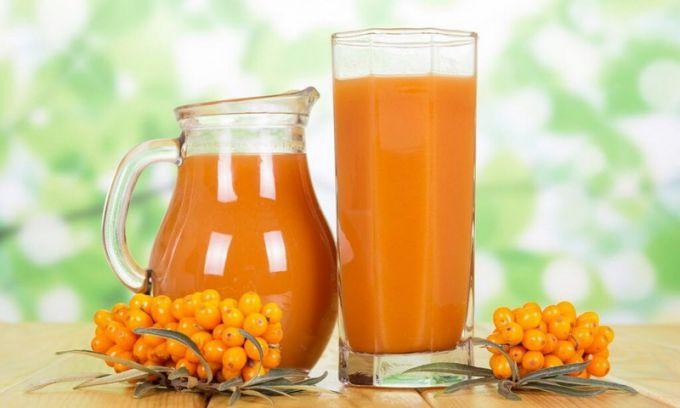 Сок из облепихи: 9 рецептов на зиму