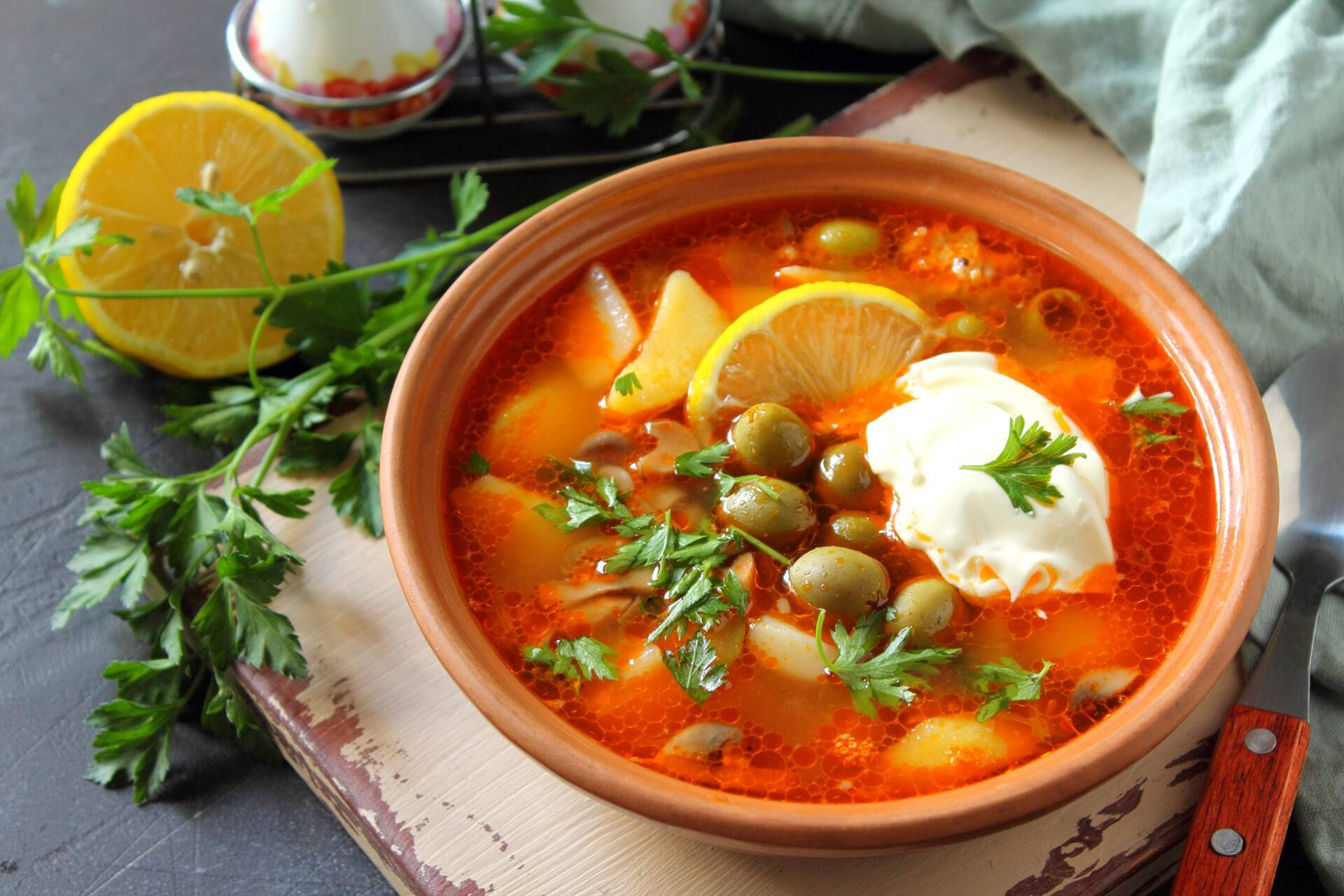 Сборная мясная солянка — 14 классических рецептов