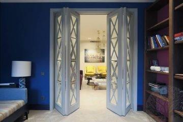 Складная дверь гармошка (книжка) своими руками 180+50 фото