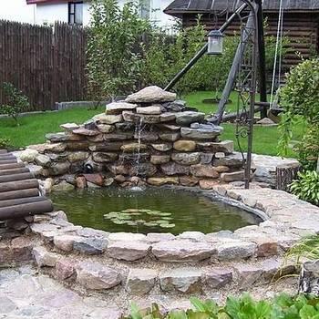 Как сделать пруд на даче — смотрите как сделать красивый пруд своими руками в обзоре на фото!