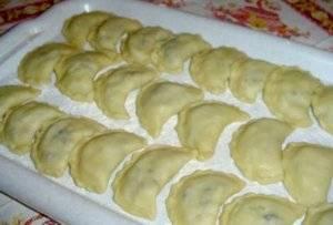 Вареники с картошкой по рецепту моей бабушки