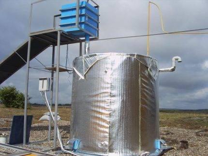 Биогаз из навоза – способы получения, преимущества технологии