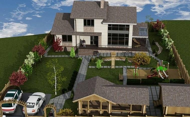 Зона отдыха на даче – дизайн, обустройство и варианты оформления рекреационной зоны