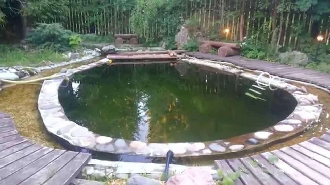 Как сделать плавательный пруд своими руками?
