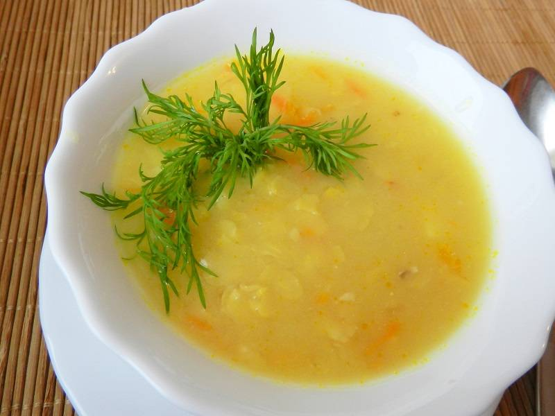 Как быстро сварить гороховый суп, чтобы разварился горох
