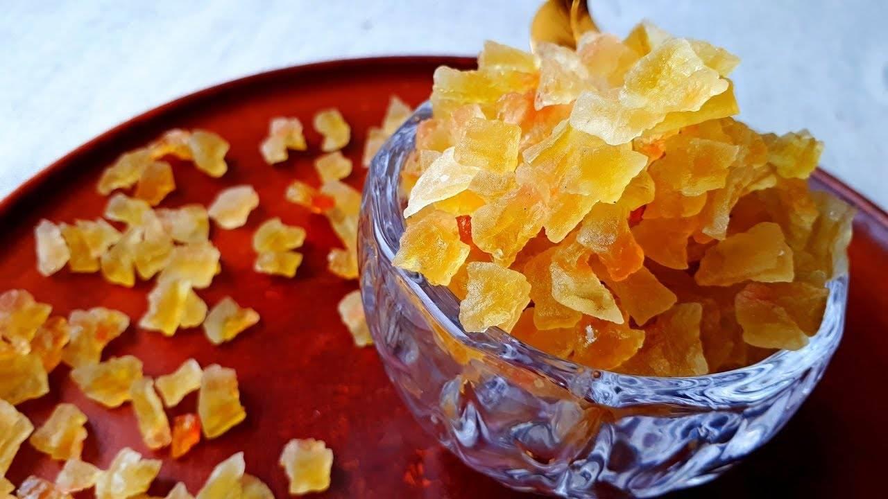 Как приготовить цукаты из арбузных корок в домашних условиях по пошаговому рецепту с фото