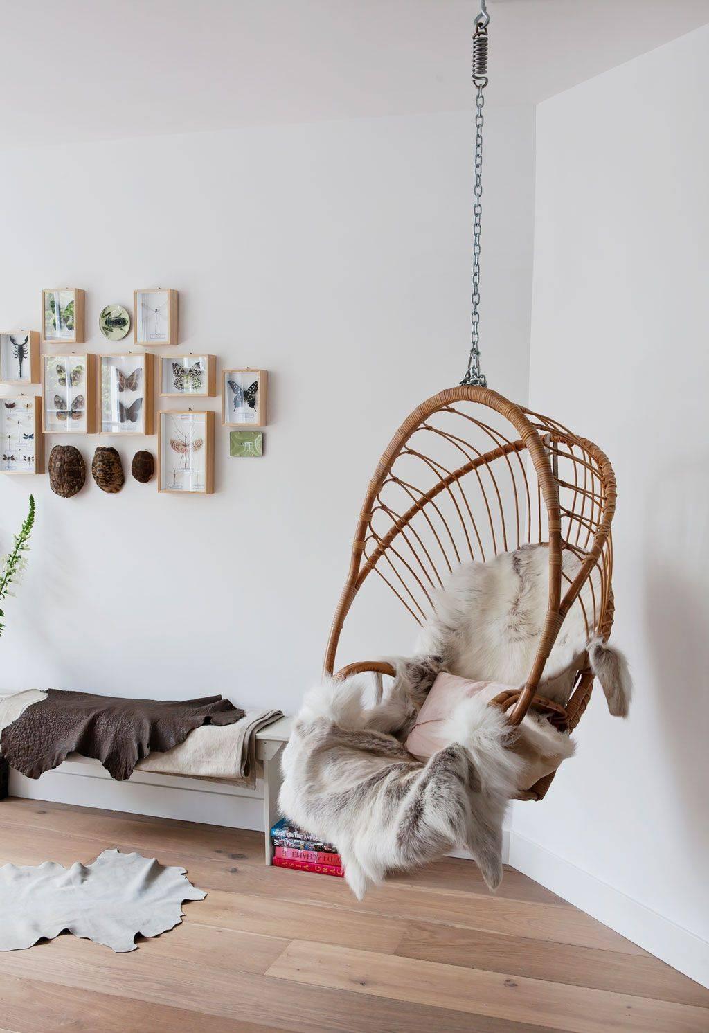 Подвесное кресло своими руками — обзор моделей, виды, варианты дизайна и подробная инструкция постройки (105 фото)