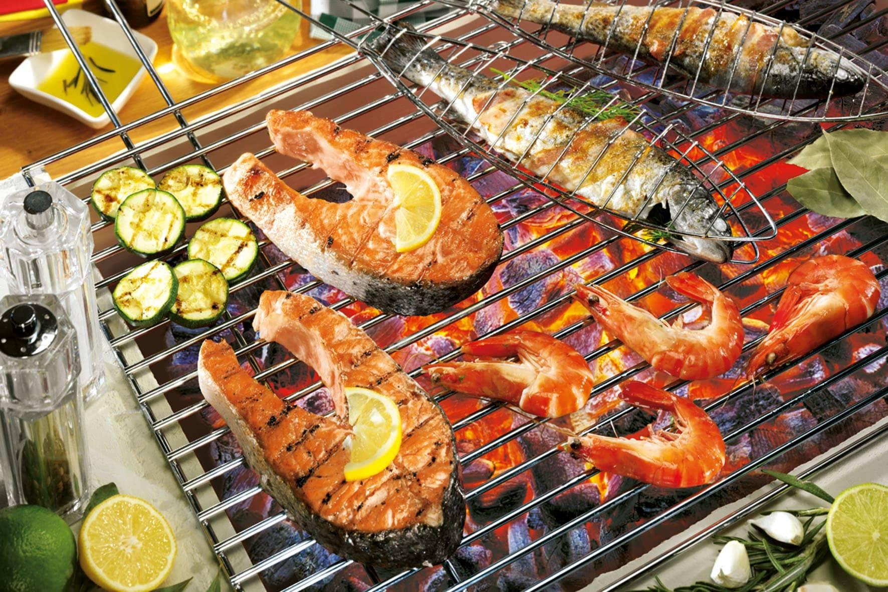 Рыба на гриле для пикника по проверенным рецептам