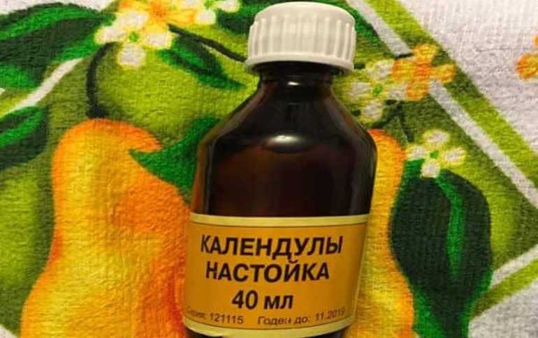 Настойка календулы для лица, эффективные рецепты от разных кожных проблем