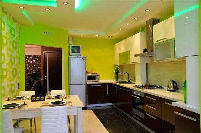 Создаем на кухне уникальный дизайн – правильно комбинируем обои