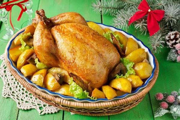 Курица с яблоками в духовке. пошаговый рецепт с фото