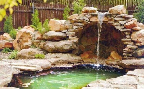 Как сделать водопад на даче своими руками?
