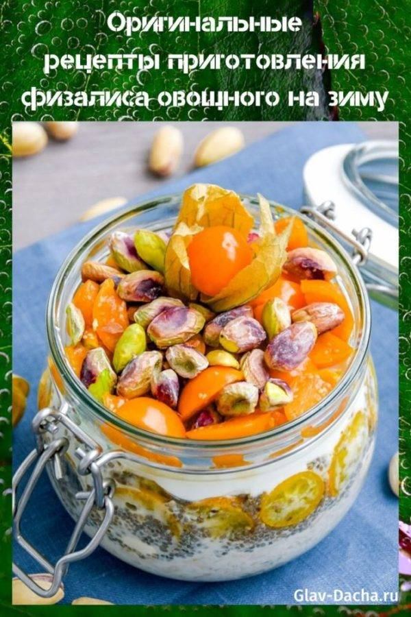 Физалис овощной: польза и вред для здоровья, рецепты приготовления