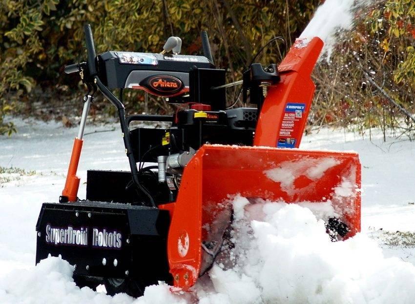 Какая снегоуборочная техника для дома и дачи подойдет лучше всего