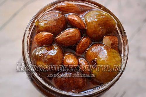 Рецепт варенья из инжира с добавлением разных ингредиентов