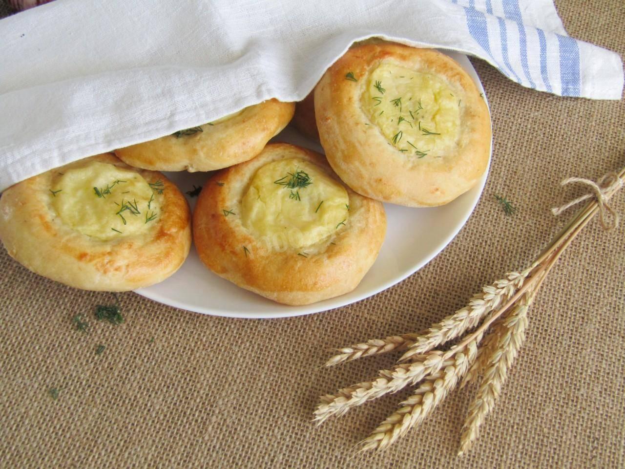 Шаньги с картошкой – 7 рецептов