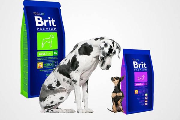 Сбалансированный корм для собак «Брит»