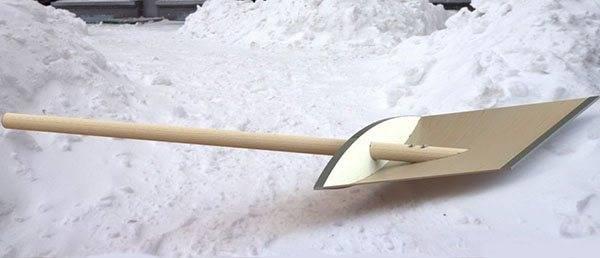 Супер-лопата для уборки снега