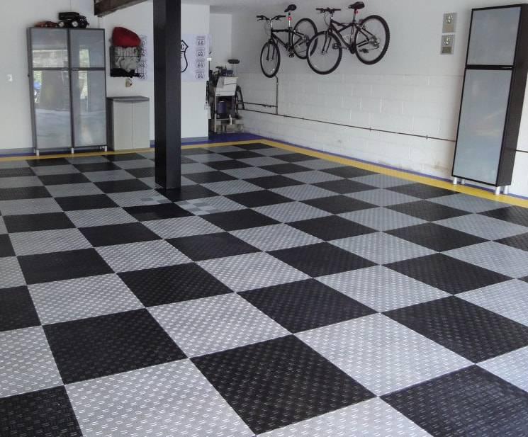 Полимерное покрытие для пола в гараже